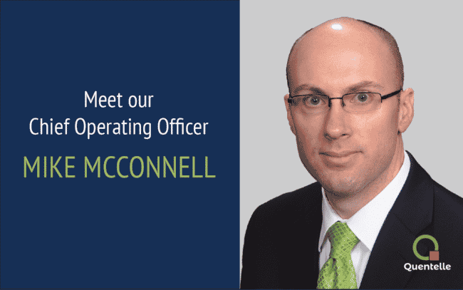 Headshot of Michael McConnell COO of Quentelle